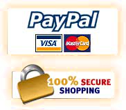 paypal logo with credit card icons